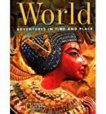 img - for World, Grade 6: Adventures in Time and Place book / textbook / text book