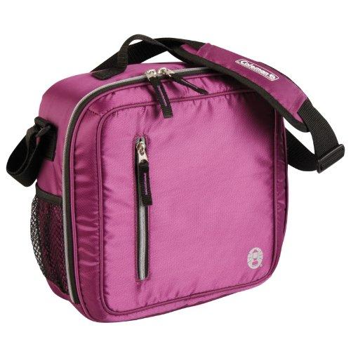 Coleman C006 Soft Messenger Bag Cooler, Purple