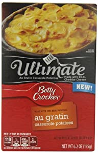 Betty Crocker Ultimate Potatoes, Au Gratin, 6.2 Ounce (Pack of 12)