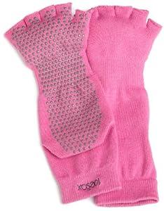 ToeSox Half Toe Yoga/Pilates Toe Socks With Grips by ToeSox