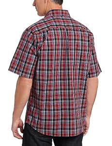 Carhartt Men/'s Essential Plaid Open-Collar Short Sleeve Button-Down Shirt SMALL