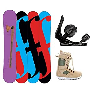 Buy Forum Holy Moly II Complete Snowboard Package by Forum Novelties