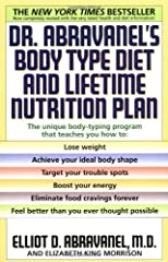 Body type diet and lifetime nutrition plan