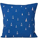 Ferm Living Cone Blue 40x40cm Cushion