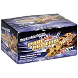 Pure Protein High Protein Bar, Chewy Chocolate Chip, 6 Bars, 1.76 Ounces (Pack of 2)