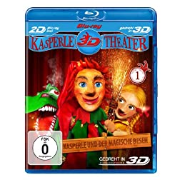 Punch and Judy and the magic broom (Blu-ray 3D) [Region Free]