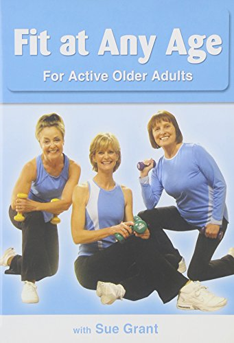 DVD : Eve Mary Stall - Fit at Any Age for Older Active Adults (DVD)