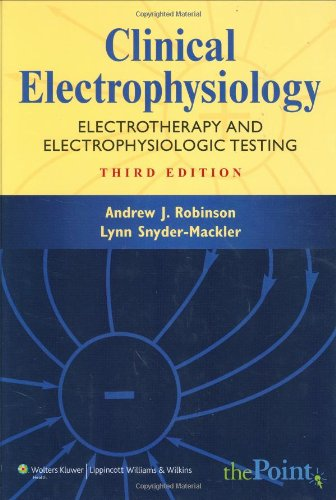 Clinical Electrophysiology: Electrotherapy and Electrophysiologic Testing (Point (Lippincott Williams & Wilkins))