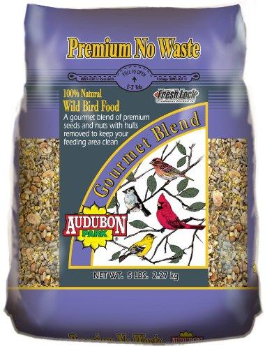 Premium No Waste Gourmet Bird Food, 5-Pound