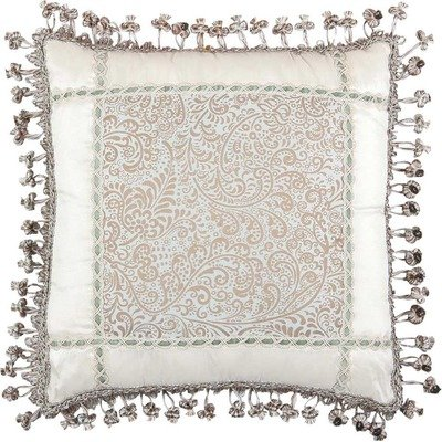 Jennifer Taylor Swanson Collection Pillow, 18-Inch by 18-Inch