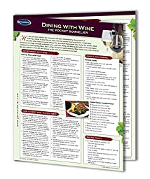 Dining with Wine - Wine Guide - Food and Drink Quick Reference Guide by Permacharts