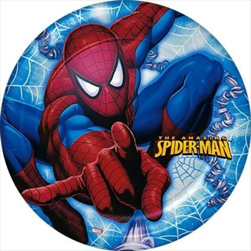 The Amazing Spider-Man Small Paper Plates (8ct) - 1