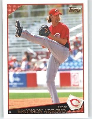 2009 Topps Baseball Card # 513 Bronson Arroyo - Cincinnati Reds - MLB Trading Card