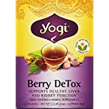 Yogi Teas Berry Detox Tea Bags, 16 Count