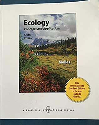 Ecology Concepts And Applications 6th Ed