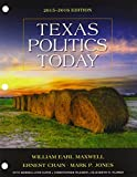 img - for Texas Politics Today 2015-2016 Edition (Texas: It's a State of MindTap) book / textbook / text book