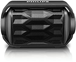 Philips BT2200B/00 Portable Bluetooth Speakers (Black)
