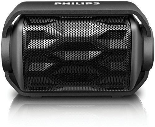 PHILIPS Bluetoothスピーカー ワイヤレス/ポータブル/IPX6防水仕様 ブラック BT2200B