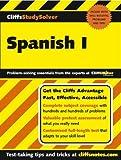 CliffsStudySolver Spanish I (Pt. I) (0764537652) by Stein, Gail