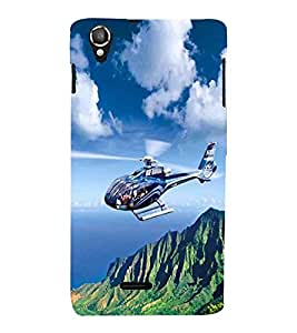 Vizagbeats Helicopter Back Case Cover for Lava 800