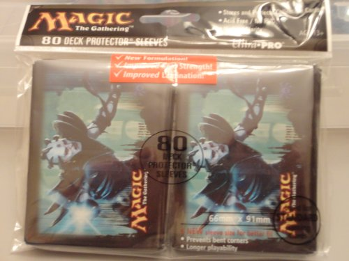 Ultra Pro (80 Count) Gatecrash House Dimir Duskmantle Guildmage Art Deck Protector Sleeves - Magic the Gathering