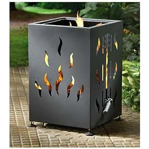 CASTLECREEK Backyard Firepit & BBQ Grill