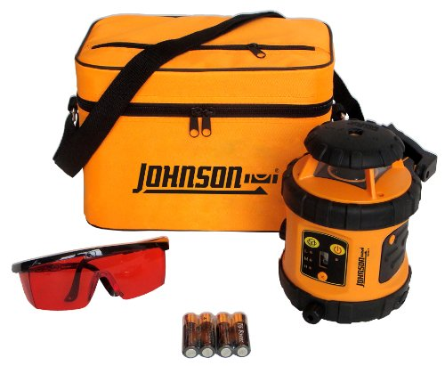 Johnson Level And Tool 40-6515 Self-Leveling Rotary Laser Level front-992763