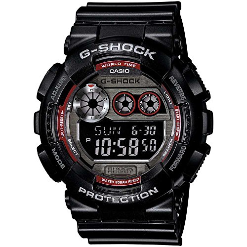 Casio Men's GD-120TS-1CR G-Shock Digital Display Quartz Black Watch