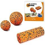 Blackroll Orange (Das Original) DIE Selbstmassagerolle - ZUBEHÖR-SET small