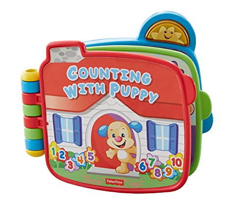 Fisher-Price Laugh & Learn Counting with Puppy Book - 1