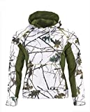Trail Crest Men's Snow Camo Soft Shell Hooded Jacket