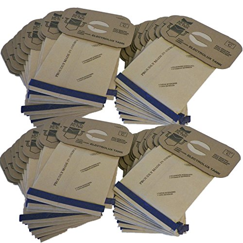 48 Electrolux Tank Type C Canister Vacuum Cleaner Bags 4 Ply Made in USA (Usa Made Vacuum Cleaners compare prices)