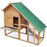 Wooden Rabbit Hutch Animal Cage XXL New enhanced model n°2