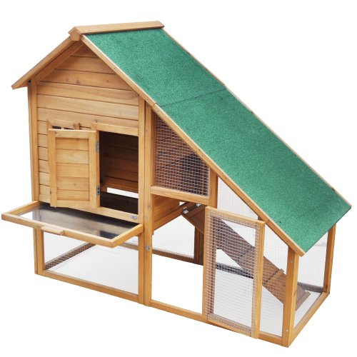 Wooden Rabbit Hutch Animal Cage XXL New enhanced model n°2