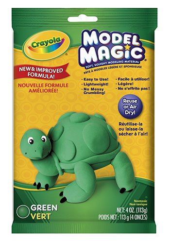 Model Magic 4 Oz Green -- Case of 8