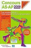 echange, troc Christine Beloeil, Anne Panaget - Concours AS-AP 2009
