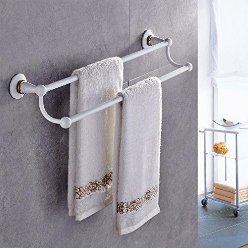 Auralum® Portasciugamani asciugamano Mensole da muro per bagno porta asciugamani accessori