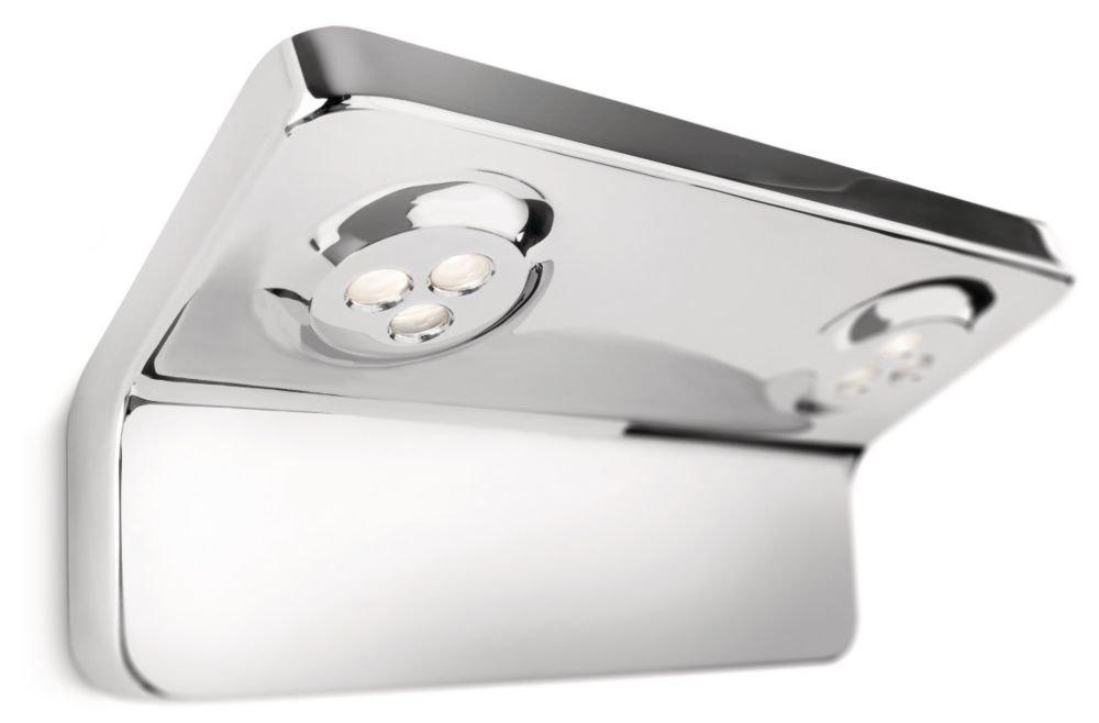 PHILIPS InStyle, Wandleuchte VANITAS mit 7,5W, inklusive Leuchtmittel, 2flammig 342131116  BeleuchtungKundenbewertung und Beschreibung