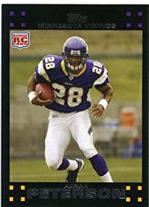 2007 Topps Football # 301 Adrian Peterson (RC) Rookie Card - Minnesota Vikings - NFL... by Topps
