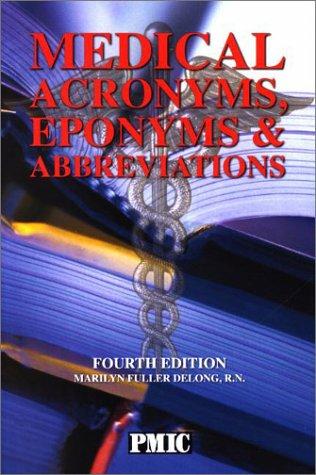 Medical Acronyms, Eponyms & Abbreviations (Pocket Version)