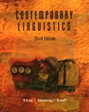 Contemporary Linguistics: An Introduction (0312137494) by Aronoff, Mark