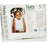 Nature Babycare Eco Pull On Pants, Size 5, 26-40lbs (80 Count)