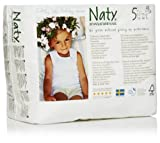 Naty Chlorine-Free ECO Pull On Pants Size 5 (26-40lbs) 80 Count