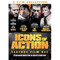 Icons of Action: 4 Film Set