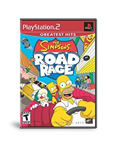 Simpsons Road Rage from Playstation 2