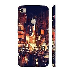 Enthopia Designer Hardshell Case Vintage Street Back Cover for Xiaomi Mi Max