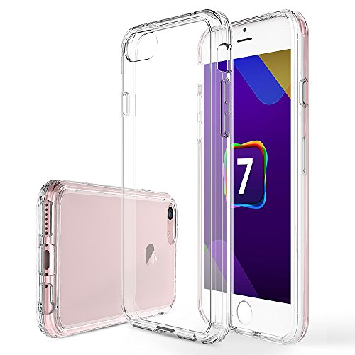 iPhone-7-Custodia-iBetter-Ultra-shock-assorbente-TPU-paraurti-con-Difficile-conchiglia-Indietro-caso-per-Apple-iPhone-7-Phone-Trasparente
