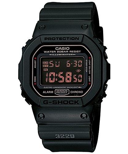 [カシオ]CASIO 腕時計 G-SHOCK Gショック DW-5600MS-1 MAT BLACK RED EYE マットブラック レッドアイ [並行輸入品]