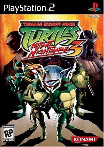 Teenage Mutant Ninja Turtles 3: Mutant Nightmare - PlayStation 2 (Ps2 Ninja Games compare prices)