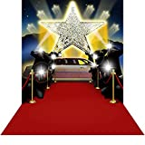 Photography Backdrop - Shoot for the Stars 3D - 10x20 Ft. - 100% Seamless Polyester